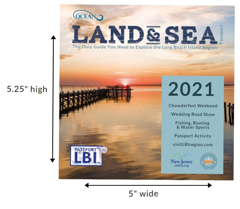 Combining the Land & Sea and Passport to LBI into one tour sized booklet.